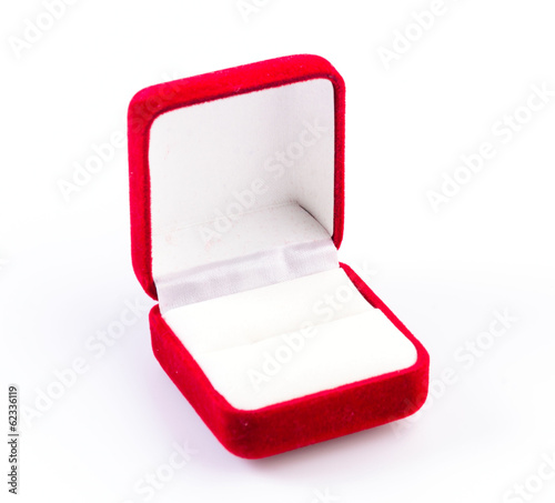 canvas print picture Jewelry red box