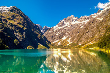 Gletschersee Neuseeland