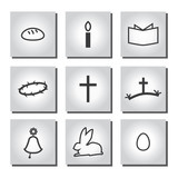 Christian Easter icons