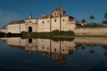 Sevilla, monasteryo de la Cartuja.