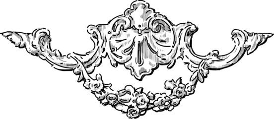 architectural baroque detail