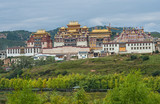 Buddhist monastery in China (Songtsam monastery, Shangrila)