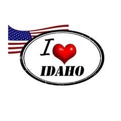 Idaho stamp