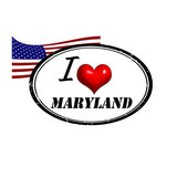 Maryland stamp