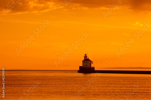 Wisconsin Point Lighthouse Sunrise