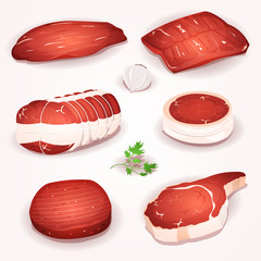 Beef Meat Set
