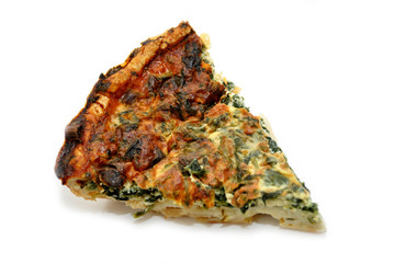A Slice of Spinach Quiche