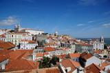 Le quartier de l'Alfama à Lisbonne