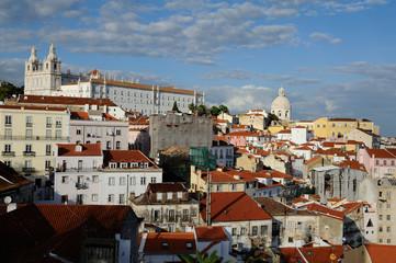 Panoramique de Lisbonne
