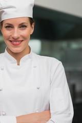 Smiling chef looking at camera
