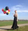 canvas print picture - luftballons bunt