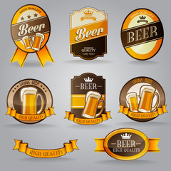 BADGES BEER