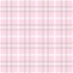 Checkered seamless plaid pink pattern