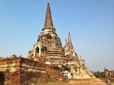 old temple in Ayutthaya,Thailand