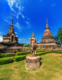 Architecture of Buddhist temples in Sukhothai, Thailand