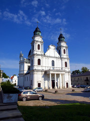 Shrine, the Basilica of St. Mary in Chelm in eastern Poland