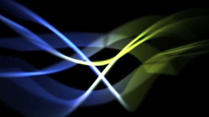 abstract light background in green and blue