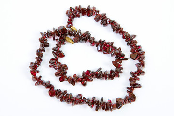 garnet necklaces