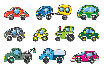 Small cars set