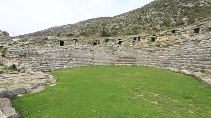 Ancient Limyra City at Turkey (Amphiteather)