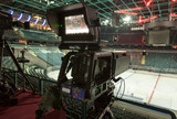camera, TV broadcast hockey