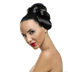 High Fashion Model Girl Portrait