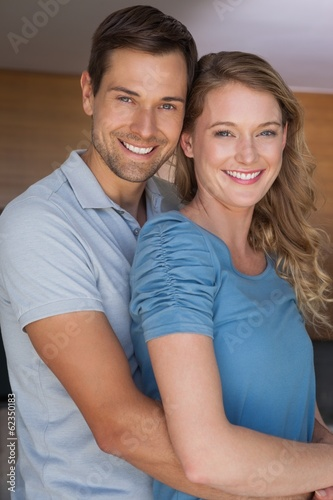 Portrait of a loving couple smiling