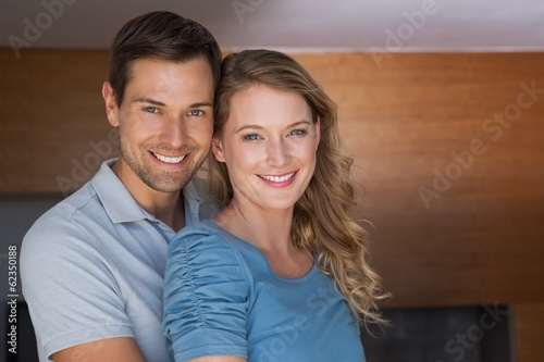 Portrait of a loving young couple