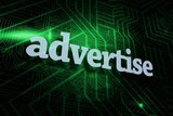 Advertise against green and black circuit board
