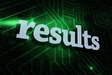 Results against green and black circuit board