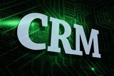 Crm against green and black circuit board