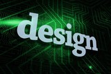 Design against green and black circuit board