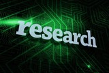 Research against green and black circuit board