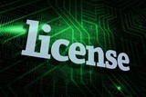 License against green and black circuit board