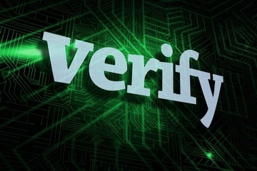Verify against green and black circuit board