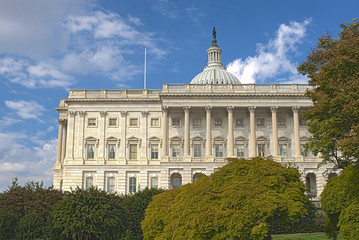The Western Facade of the US Capitol Building, Washington DC