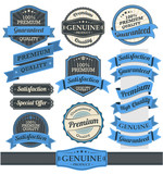 Retro Vintage Badge, Label and Banner Set - 62352704