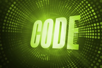 Code against green pixel spiral
