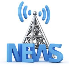 News transmitter