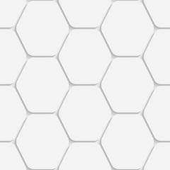 Seamless Hexagon Background