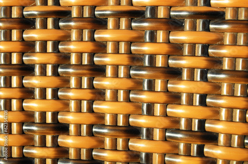 Brown Woven Rattan Background Pattern Texture