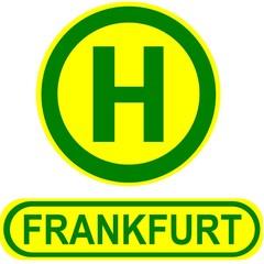 Haltestelle Frankfurt