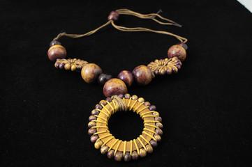 Handmade Wood Collar