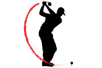Golf Driver T-Off