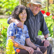 gutgelaunte Rentner