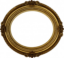 Classic oval frame
