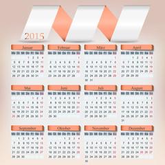 Origami Kalender 2015