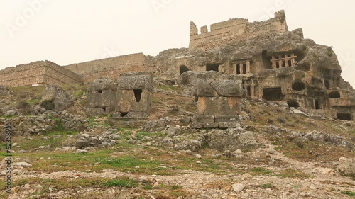 4000 BC Ancient Tlos City at Turkey