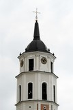 Belfry on cathedral square in Vilnius