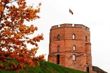 Gediminas castle in Vilnius. Lithuania.